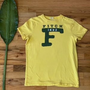 Abercrombie & Fitch Yellow Muscle T-shirt💪